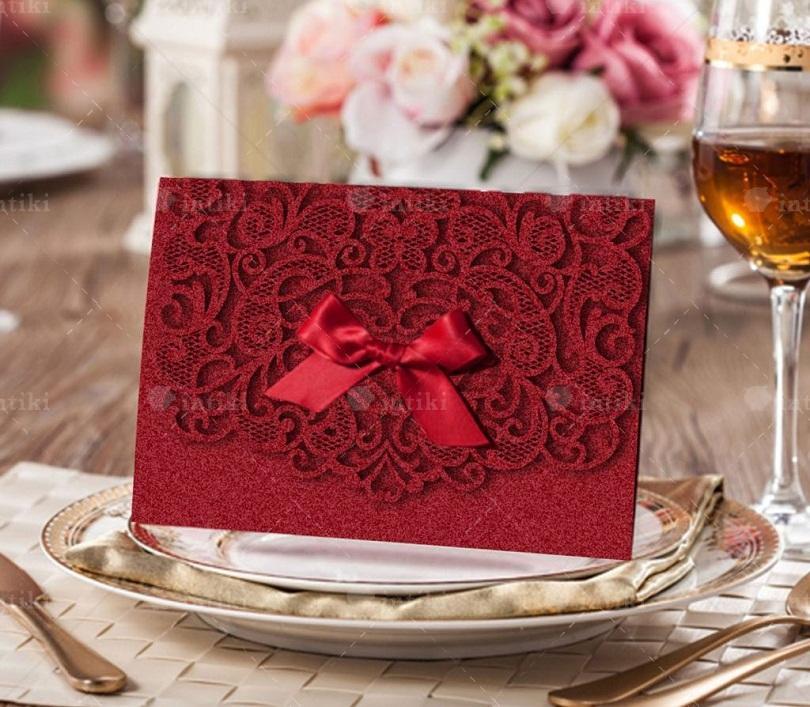 In an thiep cuoi sang trong - In thiệp cưới và những thông tin tổng quan hấp dẫn dành cho bạn