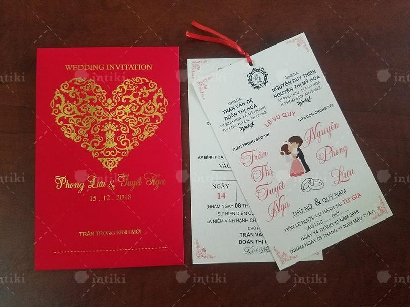 In an thiep cuoi tai Cong ty in nhanh Ha Noi - In thiệp cưới và những thông tin tổng quan hấp dẫn dành cho bạn