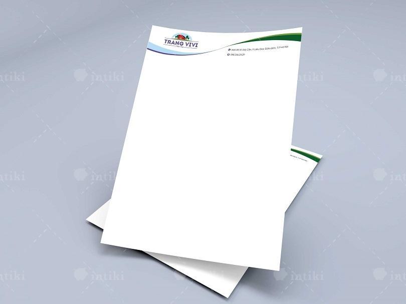 Mo dau cho quy trinh in an letterhead la phan trao doi va thong nhat in an giua nha in va doanh nghiep - In tiêu đề thư - dịch vụ in ấn được cung ứng rộng rãi trên thị trường