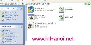 huong dan reset may in epson r230 bang phan mem ssc 1458 - Hướng dẫn Reset máy in Epson R230 bằng phần mềm ssc