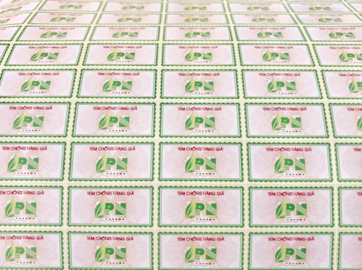 In tem bảo hành chống giả