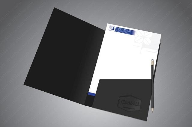 Kẹp file vector được thiết kế đơn giản nhưng vẫn hiện đại, tinh tế