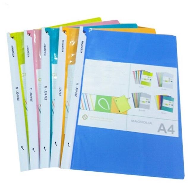 Loại file kẹp tài liệu rút gáy cũng được sử dụng rộng rãi