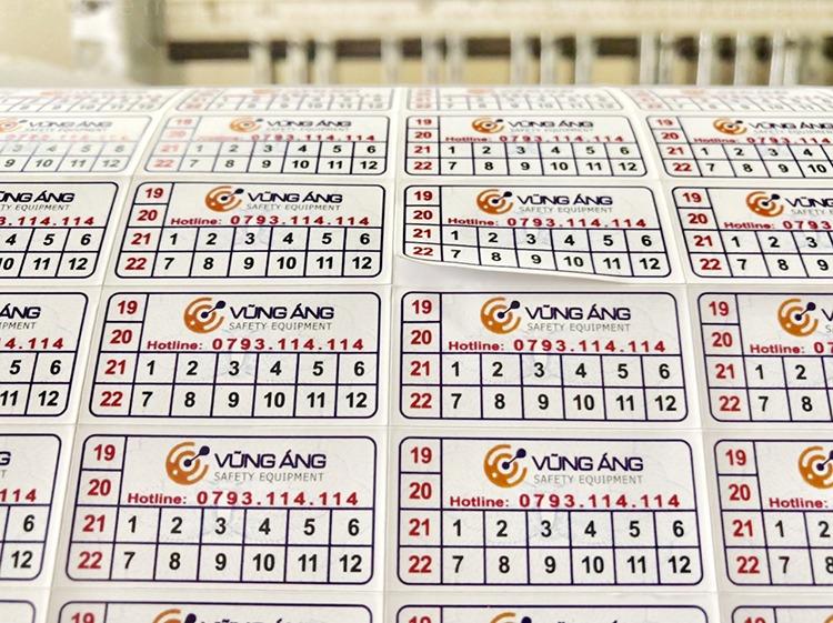 In 2000 tem vỡ bảo hành giá rẻ tại Hà Nội